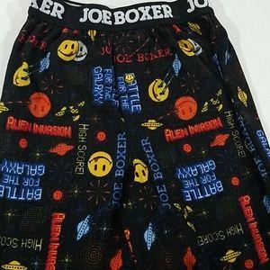 Joe Boxer boy's smily Pajama pj Pants 6/7